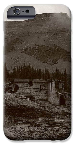 Tomboy Ghost Town I iPhone Case by Daniel Woodrum