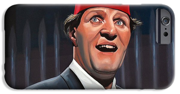 Comedian iPhone Cases - Tommy Cooper  iPhone Case by Paul Meijering