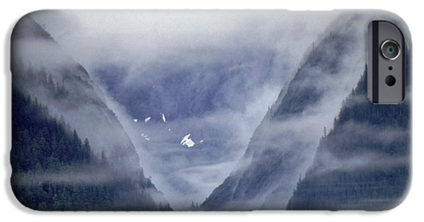 Tongass iPhone Cases - Tongass National Forest, Alaska iPhone Case by Ron Sanford