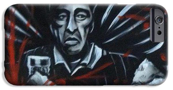 Al Pacino iPhone Cases - Tony iPhone Case by Chris Prik