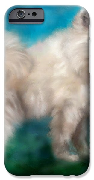 Too Sexy For My Fur iPhone Case by Colleen Taylor