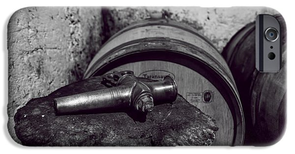 Vintage Wine Lovers iPhone Cases - Tools of the Trade - Wine Making iPhone Case by Nomad Art And  Design