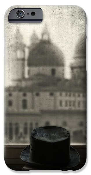 Black Top iPhone Cases - Top Hat iPhone Case by Joana Kruse