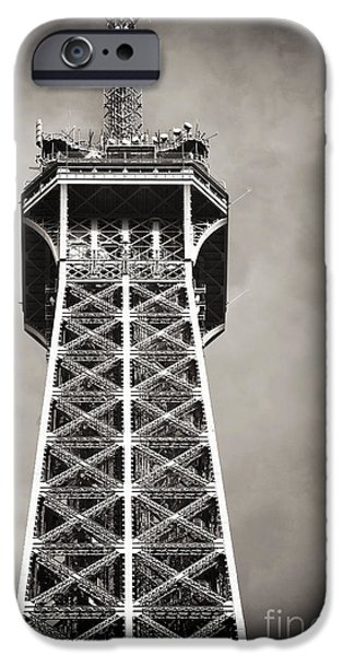 Top of the Tower iPhone Case by John Rizzuto