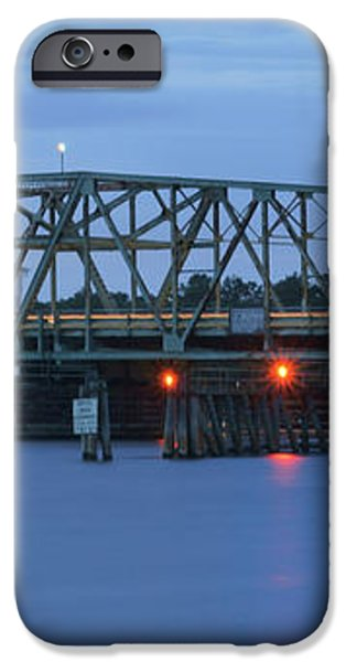 Topsail Island Bridge iPhone Case by Mike McGlothlen