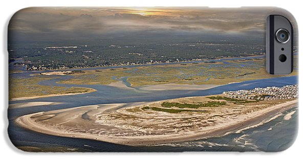 Cutler iPhone Cases - Topsail Island Paradise iPhone Case by Betsy A  Cutler