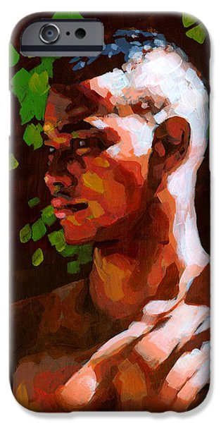 Torano in the Afternoon iPhone Case by Douglas Simonson