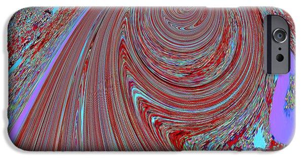 Multimedia iPhone Cases - TORNADO spiral abstract graphic digital signature art by NavinJOSHI unique Digital Graphic file avai iPhone Case by Navin Joshi