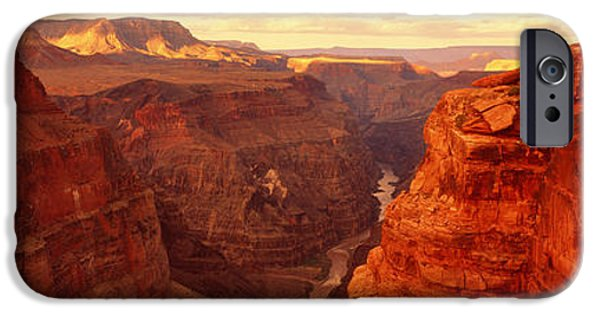 Grand Canyon iPhone Cases - Toroweap Point, Grand Canyon, Arizona iPhone Case by Panoramic Images