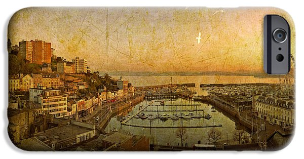 Digitally Created iPhone Cases - Torquay 2014 No.2 iPhone Case by Edmund Nagele