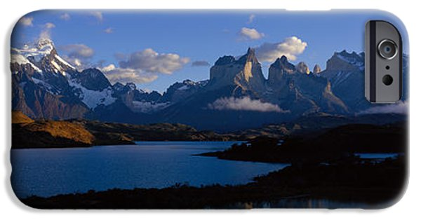 Snow iPhone Cases - Torres Del Paine, Patagonia, Chile iPhone Case by Panoramic Images