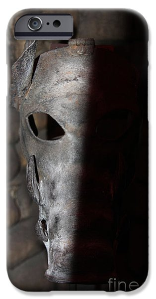 Humiliation iPhone Cases - Torture Mask - Pay for your Sins iPhone Case by Lee Dos Santos