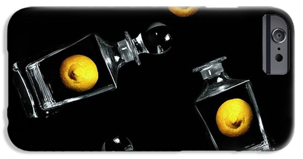 Behind The Scenes Photographs iPhone Cases - Toss Me a Lemon iPhone Case by Diana Angstadt