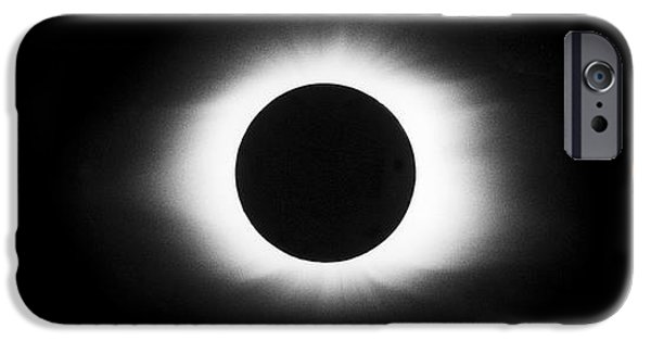 Solar Eclipse iPhone Cases - Total Solar Eclipse Sequence iPhone Case by John Chumack