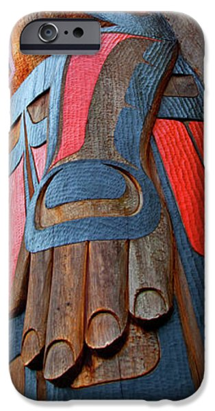 TOTEM 3 iPhone Case by Theresa Tahara