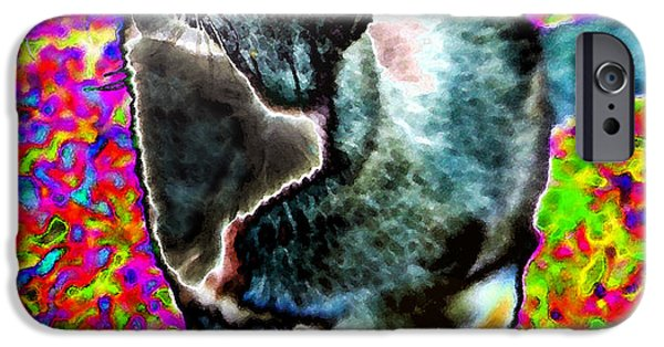 Art By God iPhone Cases - Touched by God iPhone Case by David Lee Thompson