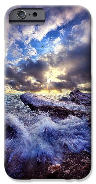 Chicago iPhone Cases - Touched So Divinely iPhone Case by Phil Koch