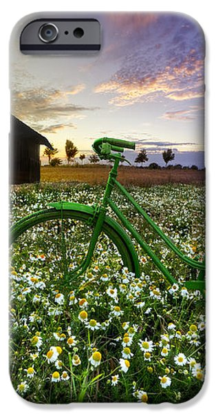 Tour de France iPhone Case by Debra and Dave Vanderlaan