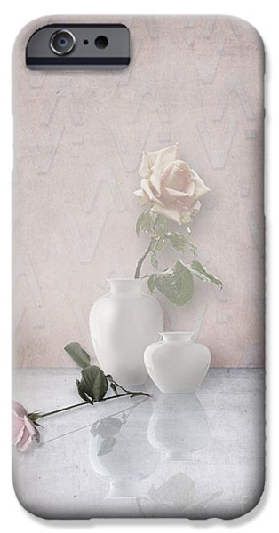 Interior Still Life iPhone Cases - Tout En Rose iPhone Case by Artskratches
