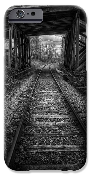 Monochrome iPhone Cases - Toward the Unknown iPhone Case by Scott Norris