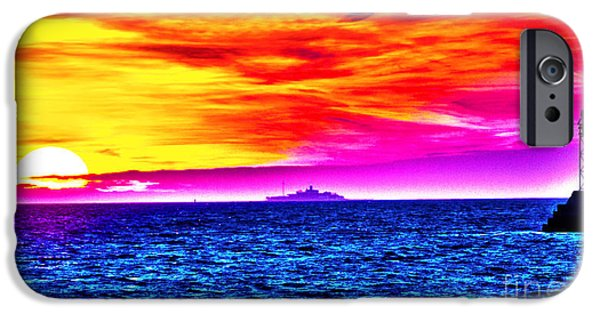 Abstract Seascape iPhone Cases - Toward Tomorrow iPhone Case by Joe Geraci