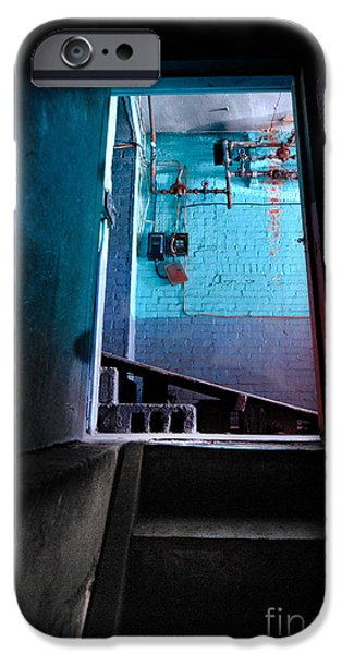 Basement iPhone Cases - Towards the Glow iPhone Case by Amy Cicconi