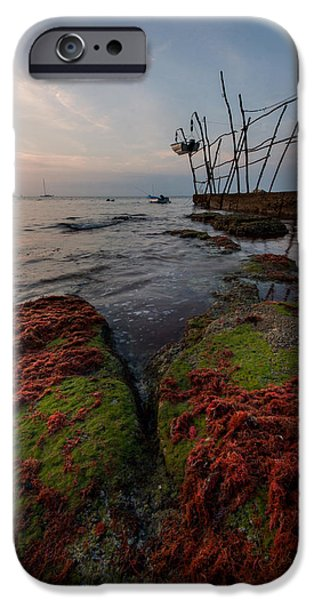Alga Photographs iPhone Cases - Towards the night iPhone Case by Davorin Mance