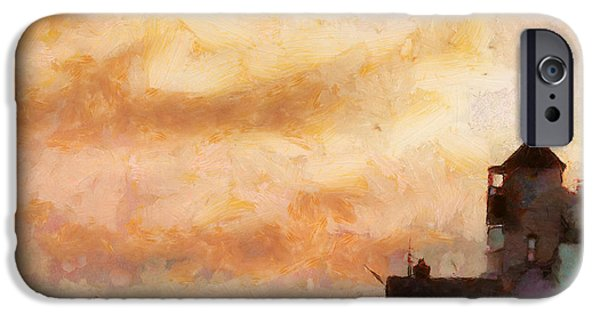 Village iPhone Cases - Towards the shore iPhone Case by Pixel Chimp