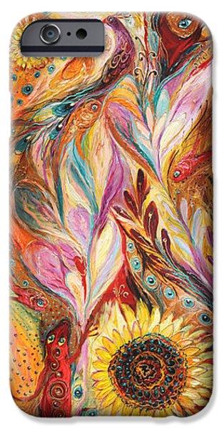 Tree Art Print iPhone Cases - Towards the Sun iPhone Case by Elena Kotliarker