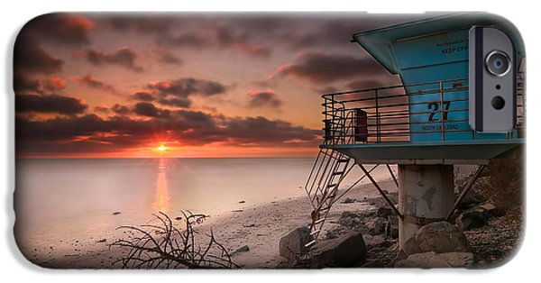 Waterscape iPhone Cases - Tower 27 iPhone Case by Larry Marshall