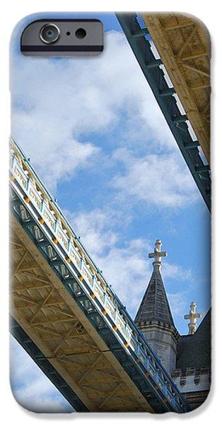 Tower Bridge iPhone Case by Christi Kraft
