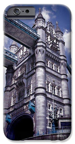 Kate Middleton iPhone Cases - Tower Bridge London iPhone Case by Mariola Bitner
