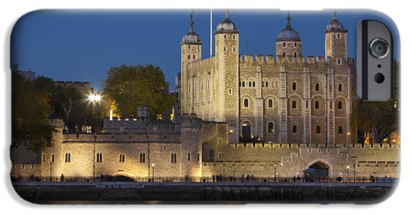Infamous iPhone Cases - Tower of London iPhone Case by Brian Jannsen