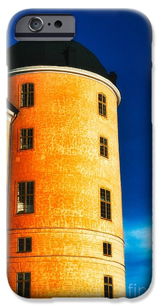 Tower of Uppsala Castle - Sweden iPhone Case by David Hill