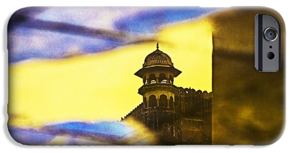 Abstract Photographs iPhone Cases - Tower Reflection iPhone Case by Prakash Ghai