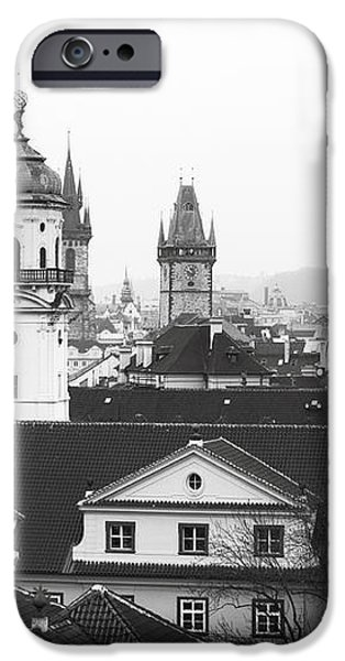 Towers of Prague iPhone Case by John Rizzuto