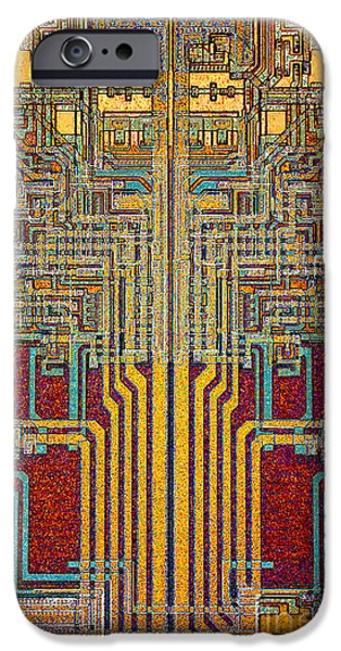 Mainboard iPhone Cases - Towers iPhone Case by Steve Emery