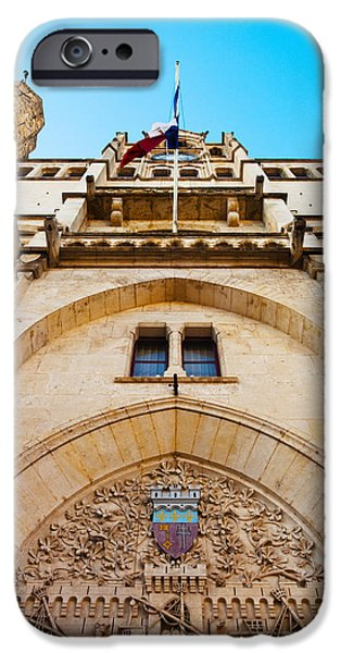 Languedoc iPhone Cases - Town Hall At Place De Lhotel De Ville iPhone Case by Panoramic Images