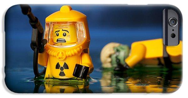 Dump iPhone Cases - Toxic Dump iPhone Case by Samuel Whitton