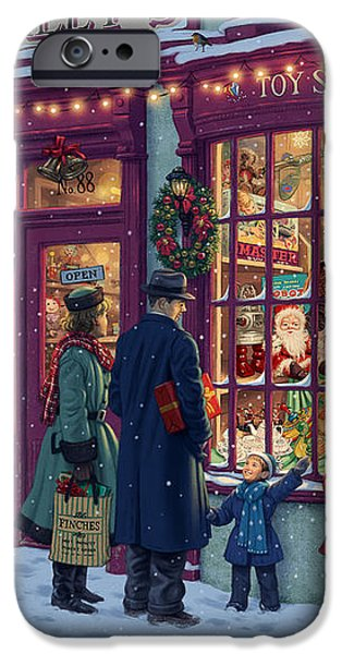 Toy Shop Variant 2 iPhone Case by Steve Read