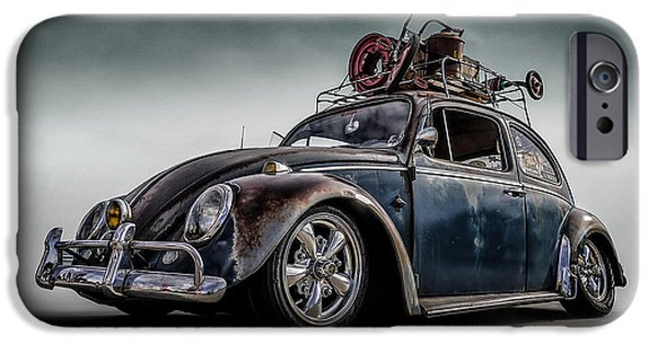 Rusted Cars iPhone Cases - Toyland Express iPhone Case by Douglas Pittman