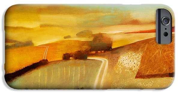 Rural Landscapes iPhone Cases - Track iPhone Case by Charlie Baird