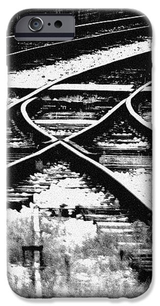 Tracks iPhone Case by Alan Oliver