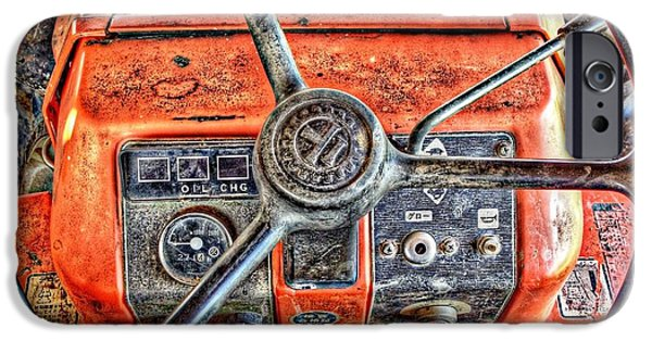 Little Sculptures iPhone Cases - Tractor Farm iPhone Case by Zaidi Ismail