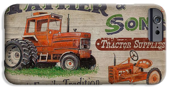 Sign iPhone Cases - Tractor Supplies iPhone Case by JQ Licensing