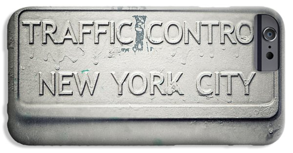 Traffic Control iPhone Cases - Traffic Control iPhone Case by Lisa Russo