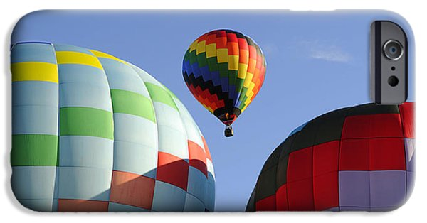 Hot Air Balloon iPhone Cases - Traffic Jam iPhone Case by Luke Moore