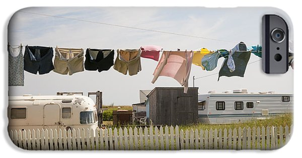 Province iPhone Cases - Trailers in North Rustico iPhone Case by Elena Elisseeva