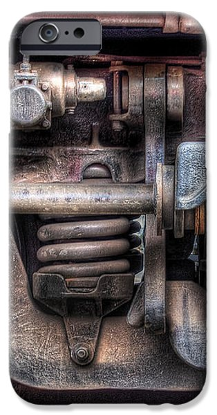 Train - Car - Springs and Things iPhone Case by Mike Savad