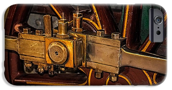 Inexpensive iPhone Cases - Train Connecting Rod iPhone Case by Paul Freidlund